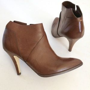 "Carlos Santana ""Equinox"" heeled ankle booties"